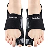 Bunion Corrector & Bunion Splint for Big Toe Pain Relief as Aid Surgery Kit for Hallux Valgus Toe Straightener, Fits Women & Men for Night Use by FeetsEase