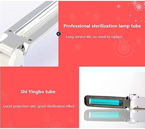 ALLOMNE Lampe de St/érilisation Batterie et Alimentation USB D/ésinfection /à 360 Degr/és pour Accueil Bureau Voyage Lampe de St/érilisation Ultraviolette Pliante Portable Dispositif de D/ésinfection UV