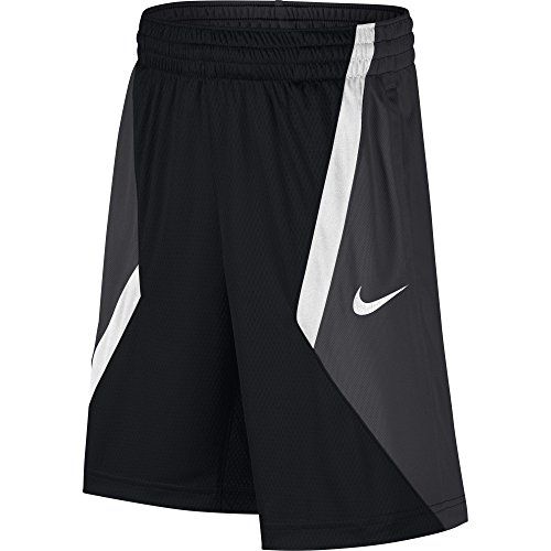NIKE Boys' Dry Avalanche Basketball Shorts, Black/Anthracite/White/White, X-Large