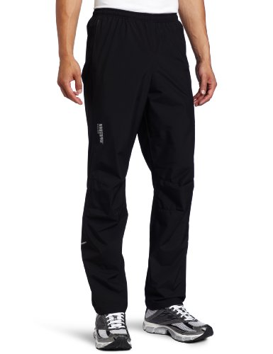 Gore Running Wear Men's Essential Active Shell Pant, Black, Small