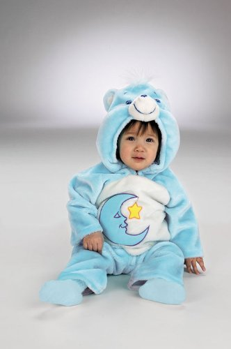 [Care Bear Bedtime 3-12 MOS. by Morris Costumes] (Stuffed Bear Costume)