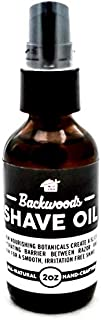 product image for Backwoods Shave Oil 2 oz - Superior Glide, All Natural, Hand Crafted in the USA