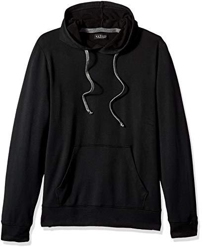 (Velvet by Graham & Spencer Men's Evander Hoodie Sweatshirt, Black, Medium )