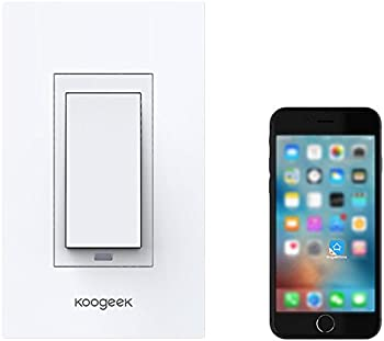 Koogeek Smart WiFi 1-Gang Light Switch