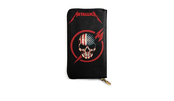 Luxurious Soft Inner Fabric Leather Wallet Waterproof Metallica Comfortable Durable Lightweight Environmentally Friendly
