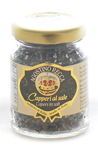 Capers in Salt 2.2oz Agostino Recca by AgostinoRecca