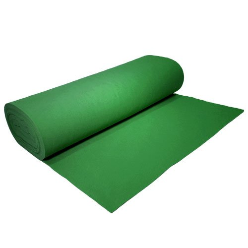 Acrylic Felt by the Yard 72'' Wide X 3 YD Long: Kelly Green by The Felt Store