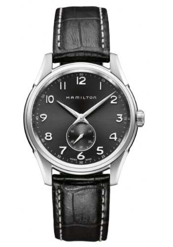 Hamilton Men's H38411783 Jazzmaster Thinline Grey Dial Watch