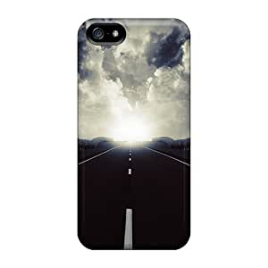 Ultra Slim Fit Hard TinaMacKenzie Cases Covers Specially Made For Iphone 5/5s- Highway