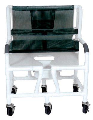 Amazon.com: Lumex 89150 silla de ruedas para ducha (Asiento ...