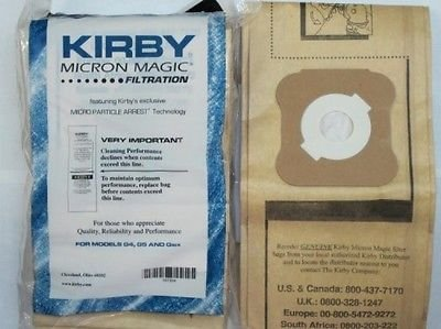 Kirby Generation 4 and 5 Vacuum Bags, 9 Pack, New, Free Shipping
