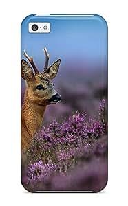 Snap-on Case Designed For Iphone 5c- Deer Kimberly Kurzendoerfer