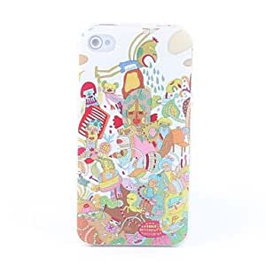 Special Cartoon Pattern Hard Case for iPhone 4 and 4S