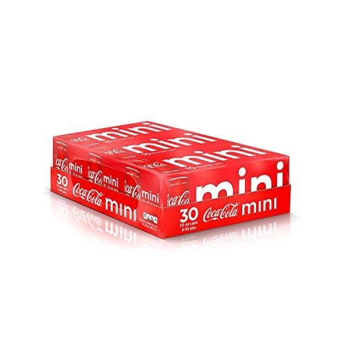 Coca Cola Mini Cans  7 5 Oz   30 Pk  Vevo