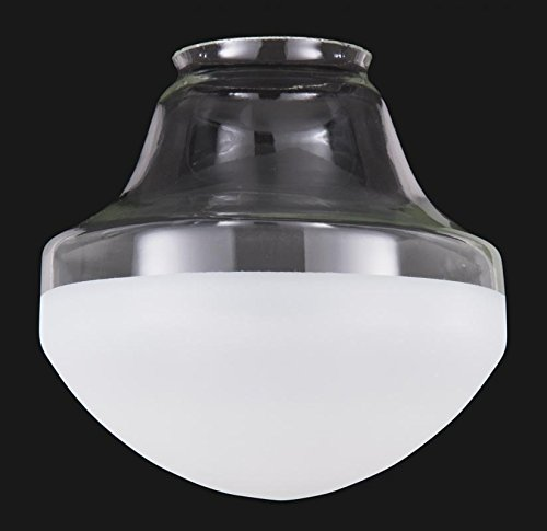 B&P Lamp Special Half-Frost Industrial Style Pendant Shade (14'') by B&P Lamp
