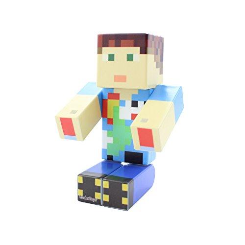 V1 EnderToys Cheese Head Action Figure Toy 4 Inch Custom Series Figurines Seus Corp Ltd