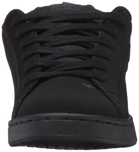 Pictures of DC Kids Youth Court Graffik Skate Shoes Black/Black/Black 6
