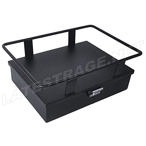 Cooler Holder & Storage Box, 11'' x 9'', Black, Compatible with Dune Buggy