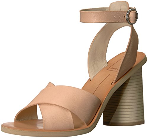 Athena Leather - Dolce Vita Women's Athena Heeled Sandal, Natural Leather, 8.5 M US