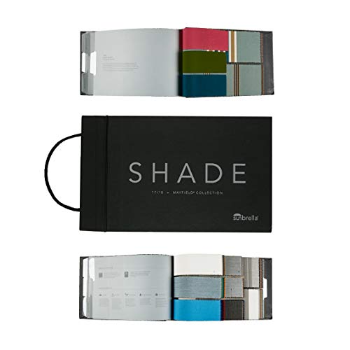 Vantage Collection (Sunbrella Shade 17-18 Mayfield Collection Sample Book Multi)