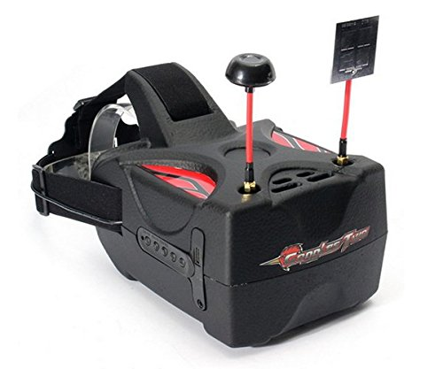 Eachine Goggle 2 Goggles Two 5 Inches 5.8G Diversity 40CH Ra