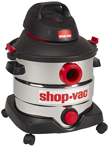 Shop-Vac 5989400 8 gallon 6.0 Peak HP Stainless Wet Dry Vacuum, Black (Certified Refurbished)
