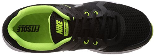 Nike Zoom Winflo, Zapatillas de Running para Hombre Black/Metallic Silver/Volt/Dark Grey