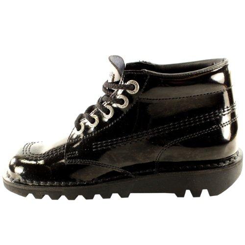 Chaussure Bureau Classique Kickers Brevet Travail Noir Kick Hi Bottes Femmes UpR8p