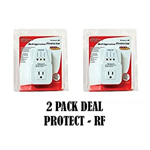 2 Pack Voltage Protector Brownout Surge Refrigerator 1800 Watts Appliance