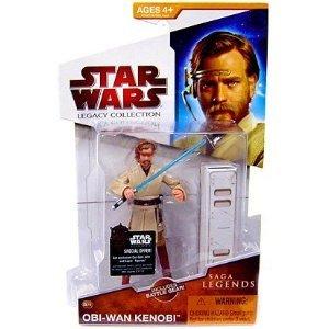 "Star Wars Saga Legends 3 3/4"" Obi-Wan Kenobi Action Figure"