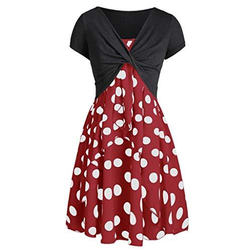 (Duseedik Women's Plus Size Dresses Backless Off Shoulder V-Neck Casual Bohemian Strapless Strap Waist Split Long Dress Red)