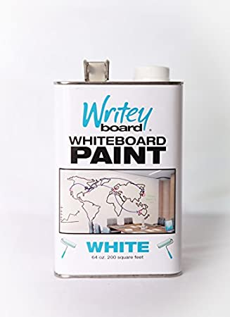 whiteboard paint white dry erase paint 200 sq ft - Dry Erase Board Paint