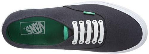 Vans U AUTHENTIC (WASHED) BLACK VVOE4JT Unisex-Erwachsene Sneaker Schwarz ((Pop) ebony/eme)