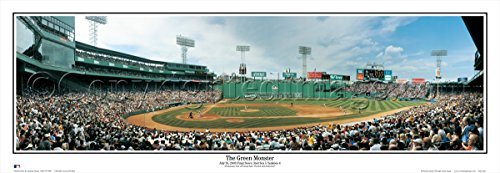 Fenway Park Artwork (Boston Red Sox - The Green Monster Fenway Park - 13.5