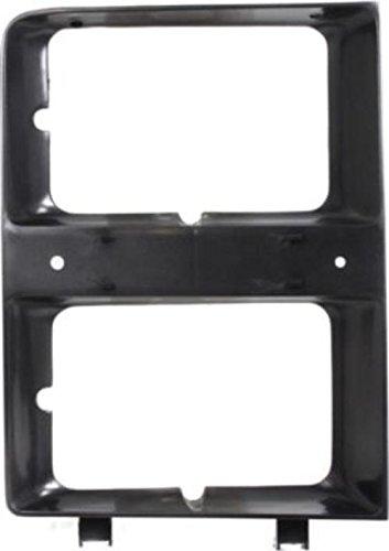 CPP Primed Dual Headlight Door for 83-84 Chevy C30, K5 Blazer, Pickup, Suburban