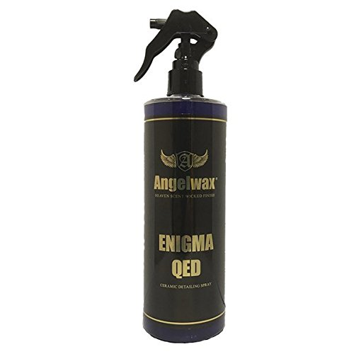 Angelwax Enigma QED 500ml Ceramic Infused Quick Exterior Detailer Brilliant Shine, Glossy, Quick & Easy to Use Detail Spray
