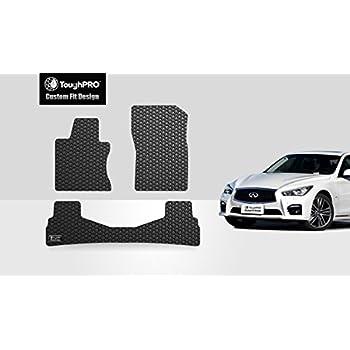 Amazon Com Infiniti Q50 Oem Black Carpeted Floor Mats