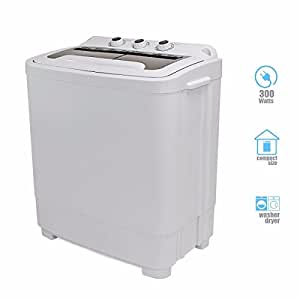 portable mini washer compact 8 9 lbs washing spin dryer machine dorm rv laundry home. Black Bedroom Furniture Sets. Home Design Ideas