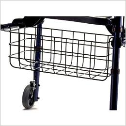 Amazon.com: Invacare Rollite Andador Walker Cesta – Cesta de ...