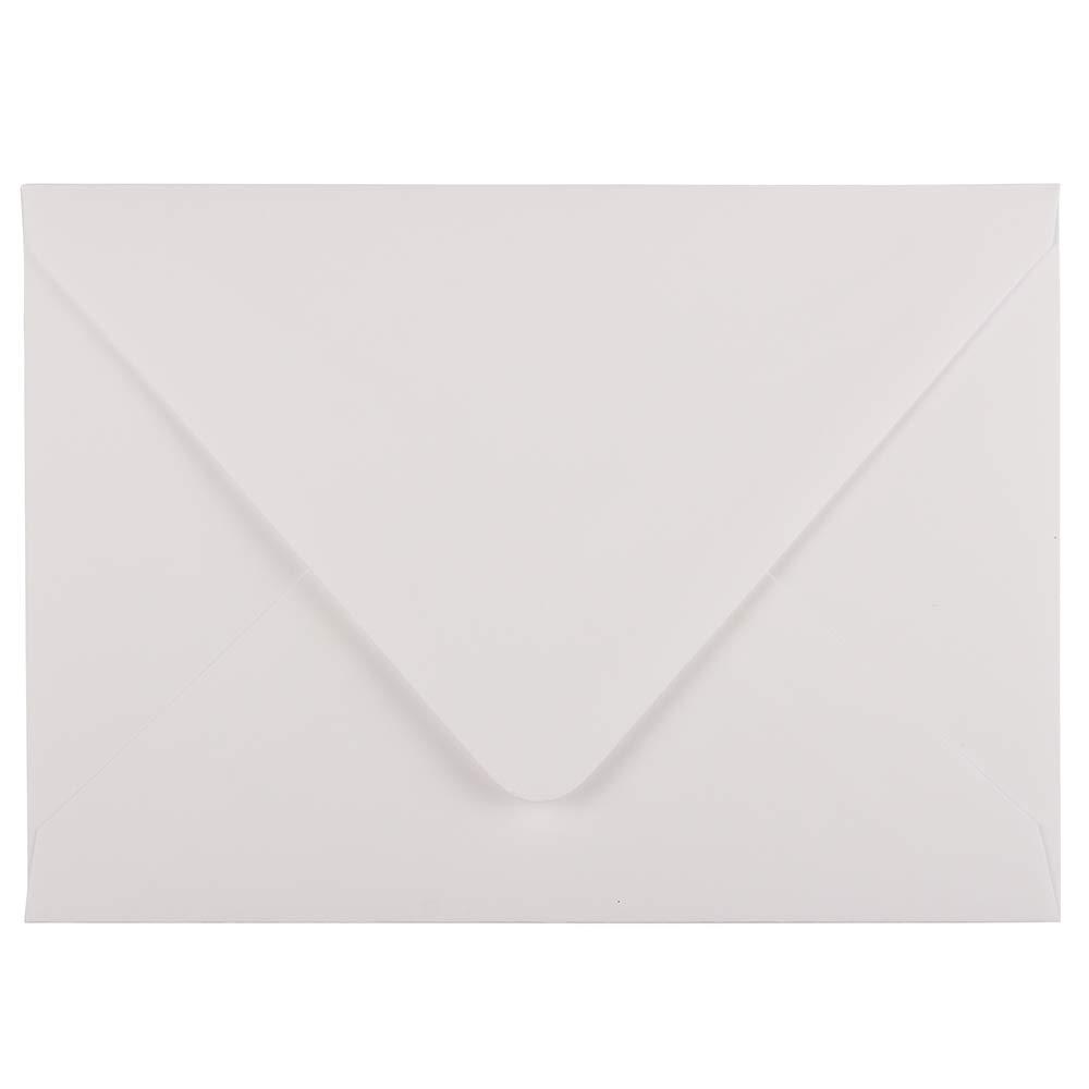 JAM PAPER 5 1/2 x 7 1/2 Booklet Envelopes - White - Bulk 250/Box JAM Paper & Envelope