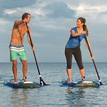 Wavestorm 9' 6'' Stand Up Paddle Board Bundle 2-Pack by Wavestorm