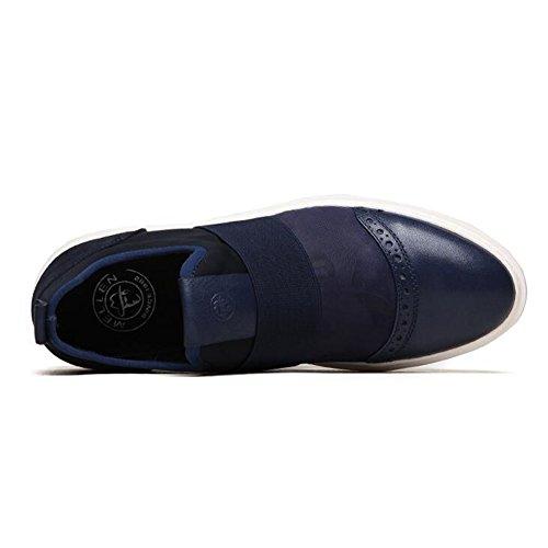 Business Tendon Dress En Mode Wedding Loisirs Chaussures Bleu Automne Blanc De Glisser Des Cuir Sur Hommes P5qExH0wzx