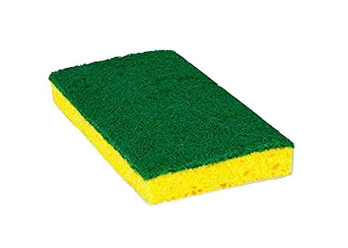 Boss Cleaning Equipment B001718 Hotel Half-Size Scrub Sponge