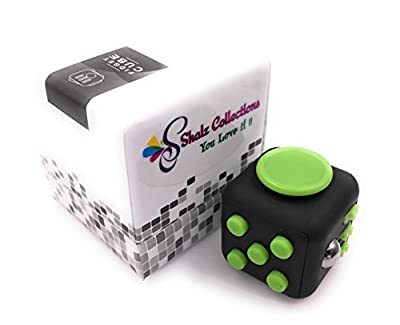 SC Fidget Cube Relieve Stress, Anxiety, and Boredom all at your finger tips, Anxiety Attention Toy for Work, Class, Home with 6 Various Addicting Features