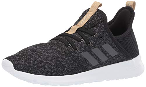 adidas Women's Cloudfoam Pure, Grey/Black, 5 M US by adidas (Image #1)