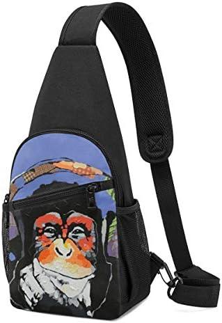 ボディ肩掛け 斜め掛け Dj ゴリラ ショルダーバッグ ワンショルダーバッグ メンズ 軽量 大容量 多機能レジャーバックパック