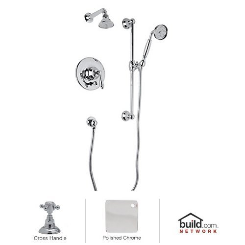 **KIT** ROHL COUNTRYBATH SHOWER PACKAGE IN POLISHED