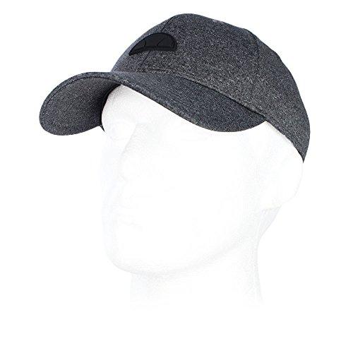 ellesse Mens Pavia Black Marl Baseball Cap - O/S