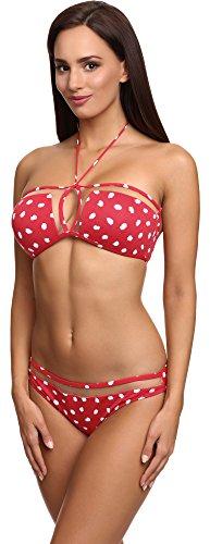 SHE Mujer Bikini Set Debbie Patrón-R253