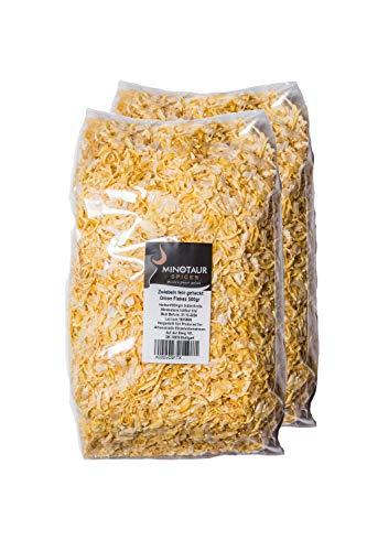 Minotaur Spices Cebollas Finamente Picadas 2 X 500g 1 Kg Copos De Cebolla Seca